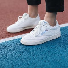 f0689bb5994 Reebok Club C Vintage 85 Reebok White Sneakers