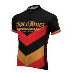 Many cycling legends have been crowned K.O.M. atop the Alpe d'Huez. And the Twin Fix Brew Pub Jersey pays tribute to all who have conquered that climb with its fast-wicking fabric, long zipper and three deep pockets. Cheers to you at the Big Ring Brew Pub.