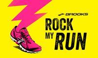 FREE run mix (discount code: RunHappy ) from @Brooks Running and Rock My Run