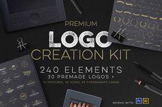 Logo Creation Kit + Bonus by Zeppelin Graphics on Creative Market