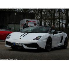 Lamborghini Gallardo White!