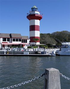 Photographs, history, travel instructions, and GPS coordinates for Harbour Town Lighthouse.