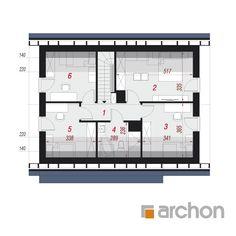 Dom w borówkach (GN) Modern Bedroom, House Plans, Floor Plans, How To Plan, Home, Bedroom Modern, Ad Home, Homes, House Floor Plans