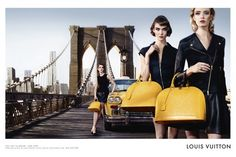 Louis Vuitton Alma Bag Campaign