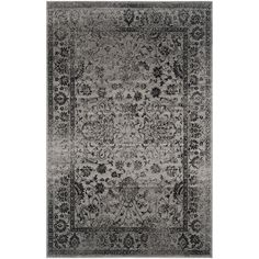 Amazon.com - Safavieh Adirondack Collection ADR109B Area Rug, 9 by 12-Feet, Grey and Black -