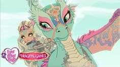 Powerful Princesses and their Dragons | Dragon Games | Ever After High