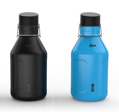 Miir Insulated Growler...warm beer sucks. 60 bucks but they also donate clean water to 3rd world countries if you buy it. ¿Ake