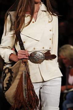 Ralph Lauren - great belt & bag