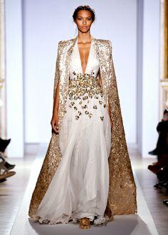 ZUHAIR MURAD Spring/Summer 2013 Haute Couture Collection; just gorgeous | Modeled by Lais Ribeiro