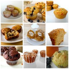 Muffin recipes. I did the blueberry and orange-berry ones, using cranberries. They were both super delicious and moist, as well as fairly easy. Definitely a great find! :)