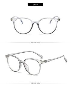 212e036911 Yooske Women Glasses Frame Men Anti Blue Light Eyeglasses Frame Vintage  Round Clear Lens Glasses Optical 1001