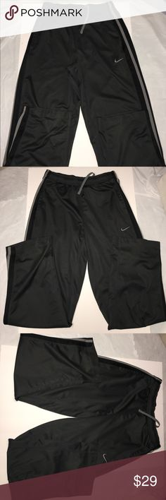 Boys size medium Nike black sweatpants joggers Boys Nike size medium sweatpants joggers Nike Bottoms Sweatpants & Joggers
