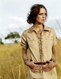 Arthur Elgort for Vogue US, June 2007   Keira Knightley styled by Grace Coddington