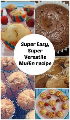 Easy muffin recipe – perfect for whatever flavour muffins you're making…. Cooking On A Budget, Cooking With Kids, Muffin Recipes, Breakfast Recipes, Baking Recipes, Butter Finger Dessert, Easy Teriyaki Chicken, Delicious Desserts, Yummy Food