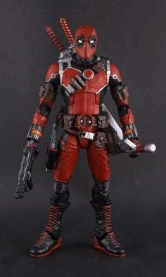 Deadpool (MCU Style) (Marvel Legends) Custom Action Figure by Shinobitron Base figure: Ant Man