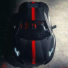 Carbon fiber Lamborghini Aventador.