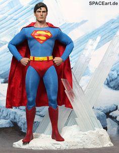 Superman: Superman (Christopher Reeve) - Deluxe Figur ... http://spaceart.de/produkte/sm001.php