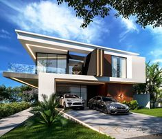 just think about what's your favorite then tell us. Modern villa group #modernvillaCo #modern_villa_design #villa_design #villadesign #modernvilladesign #villa #architecture 0912 1050 775 www.modernvillaCo.com Tropical Architecture, Lego Architecture, Modern Villa Design, Bungalow, House Plans, House Design, Mansions, Luxury, House Styles