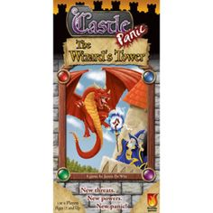 The Wizard's Tower is an expansion to the board game Castle Panic. It is not a stand-alone game and requires Castle Panic to play. The Wizard's Tower is a cooperative board game for 1 to 6 players ages 12 and up. Your Castle has been rebuilt, and a friendly Wizard has joined your forces. As long as his Tower stands, you and your friends have access to powerful magic spells.  And you'll need them, for the Monsters have returned stronger, faster, smarter, and with new abilities to threaten the…