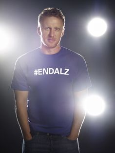 """""""My Grandfather walked up to that hospital for seven years, every single day, just went up to see her (his Grandmother). By the end she didn't really know who he was, he was a stranger to her but he would still go."""" - Kevin McKidd, Alzheimer's Champion #ENDALZ"""