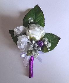 Wedding boutonniere by Weddingcraftlife on Etsy Wedding Boutonniere, Boutonnieres, Floral, Flowers, Etsy, Jewelry, Jewlery, Bijoux, Florals