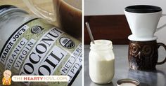 Image of 5-Ingredient Anti-Inflammatory Coconut Oil Creamer That Burns FAT All…