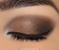 DramaticBrownMakeupLook3  w/o the white in the tear ducks