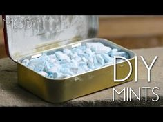 It's always a good idea to have a pack of mints on hand, especially right after a cup of coffee or a lunch made with loads of garlic. Whether you're going on a date, to the dentist, or to an interview, bad breath is a major faux pas and totally avoidable. Simply pop a mint! But not just any old mint — homemade ones not only freshen your breath but can give you a sense of pride every time you need one.