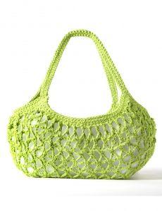 Mermaid Tears Purse   Yarn   Free Knitting Patterns   Crochet Patterns   Yarnspirations