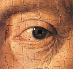 Portrait of a Man by Jan van Eyck (detail)