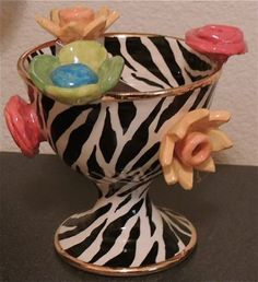 MARY ROSE YOUNG Multi Flower Zebra