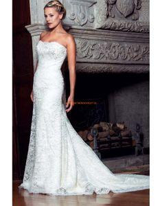 Augusta Jones 2013 Ausgefallene Luxuriöse Hochzeitskleider aus Spitze