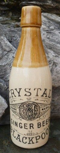 Stoneware Beer Bottle ca 1880 - Advertising Antiques & OldShopStuff.com Home - Forum - Collecting Enamel Signs Forums - Breweriana Forum