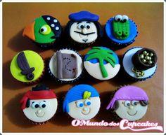 Cupcake Jake e os Piratas da Terra do Nunca