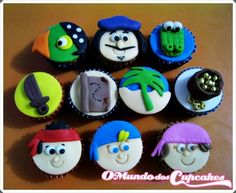 Cupcake Jake e os Piratas da Terra do Nunca