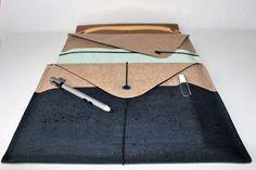 Nähanleitung: Ratz-Fatz-Laptoptasche für alle Größen | Snaply-Magazin Sewing, Material, Notebook, Accessories, Denim Crafts, Laptop Tote, Bags Sewing, Packaging, Sewing Patterns