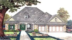 House Plan chp-30564 at COOLhouseplans.com=good layout but bedrooms next to kitchen?