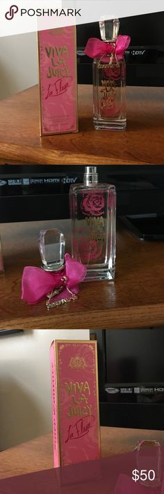 Viva la juicy 5fl oz. perfume BRAND NEW- never used. Was gifted it but just purchased a new bottle prior to reviving. Don't need 2. Brand new, comes in original box. Juicy Couture Other