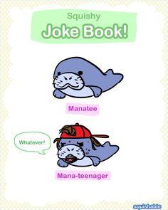 Those Mini Manatees sure have attitude! #squishable #plush #comic
