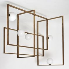 Mondrian Glass Chandelier - Shop VeniceM online at Artemest
