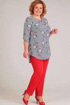 53 Plus Size Outfits To Inspire Every Girl - Fashion Fit Out Modest Fashion, Girl Fashion, Fashion Outfits, Fashion Trends, Dress Shirts For Women, Blouses For Women, Blouse Styles, Blouse Designs, Trendy Outfits