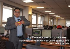 Join our team of BMW Contact Centre Superheroes today! Click for more information! Join Our Team, Superman, Centre, Bmw, Events, Shit Happens, Digital, Happenings
