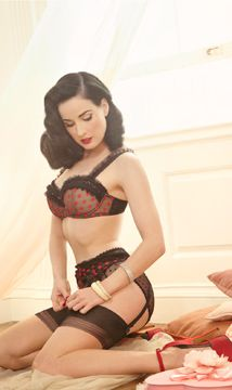 Burlesque star Dita Von Teese has launched her Australian lingerie collection Von Follies to the UK consumer this month.    The beautiful collection is inspired by Dita's own vintage lingerie collection...