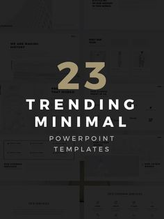 7 best Free PowerPoint Templates on Behance images on Pinterest     23 free and premium minimal powerpoint templates are trending and can  completely help your business presentation