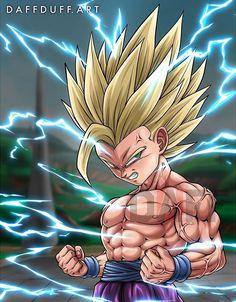 The Angry Super Saiyan Teen Gohan by on DeviantArt Lord Boros, Dbs Gohan, Dragon Ball Z, Dbz Drawings, Body Drawing, Anime Art, The Incredibles, Fan Art, Artwork