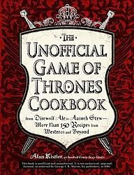 The Unofficial Game of Thrones Cookbook- An Epic Culinary Journey to the Heart of Westeros! Eat like a Lannister. Brew spirits to warm you in the coming winter. Treat guests to exotic sweets and alchemy-inspired cocktails.