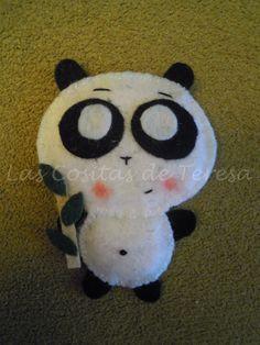 Image result for oso panda manualidad