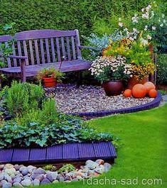 Многим, кому физически тяжело поддерживать красивый и сложный сад, наверняка понравится подход к ландшафтному дизайну на даче от Дитера Титена из Германии. Мужчина в одиночку занимается своим садом…