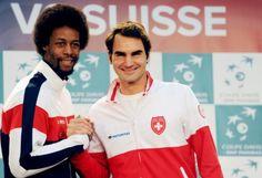 Gael Monfils Teases Roger Federer: ´I Won Montpellier With Back Pain´