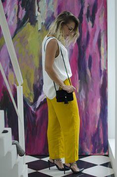 Look | Calça Mostarda | She Said
